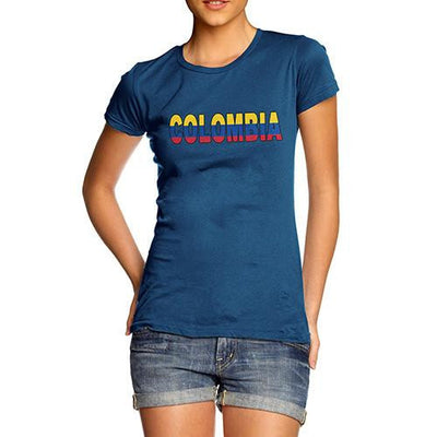 Women's Colombia Flag Football T-Shirt