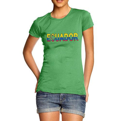 Women's Ecuador Flag Football T-Shirt