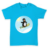 Snowboard Guin The Penguin Baby Toddler T-Shirt