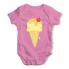 Yummy Vanilla Ice Cream Baby Grow Bodysuit