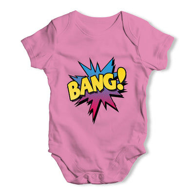 Comic Book Bang! Baby Grow Bodysuit