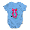 Butterfly Bow Baby Grow Bodysuit
