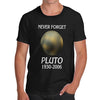 Mens Never Forget Pluto T-Shirt
