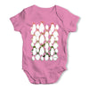 Penguin Christmas Party Baby Grow Bodysuit