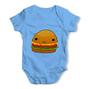 Smiling Cheese Burger Baby Grow Bodysuit
