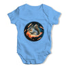 Space Bacon Squirrel Baby Grow Bodysuit