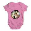 Three Cats Moon Baby Grow Bodysuit
