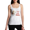 Women's Gemini Zodiac Astrological Sign Tank Top