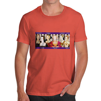 Men's Henry The 8th Wives T-Shirt