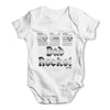 Dad Rocks Fretboard Baby Grow Bodysuit