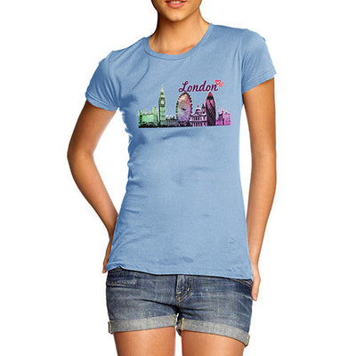 Women's Love London Cityscape T-Shirt