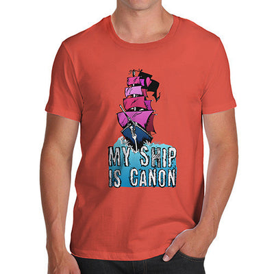 Men's My Ship Is Canon T-Shirt