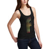 Women's Big Letter F Tank Top