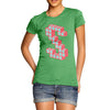Women's Block Letter S T-Shirt