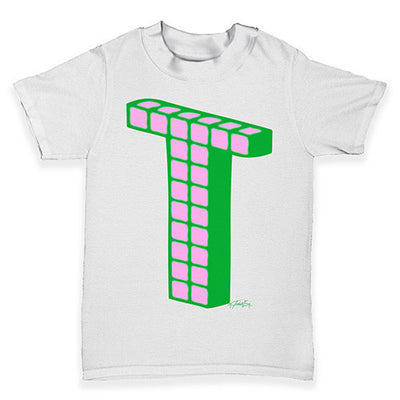Alphabet Letter T Baby Toddler T-Shirt