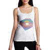 Women's Colorful Monogram Letter D Tank Top