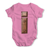 Iron Letter I Baby Grow Bodysuit