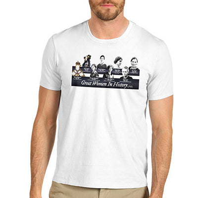 Men's Great Women in History T-Shirt
