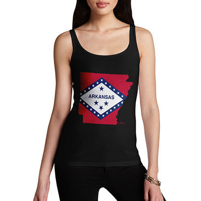 Women's USA States and Flags Arkansas Tank Top