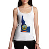 Women's USA States and Flags Idaho Tank Top