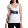 Women's USA States and Flags Nebraska Tank Top