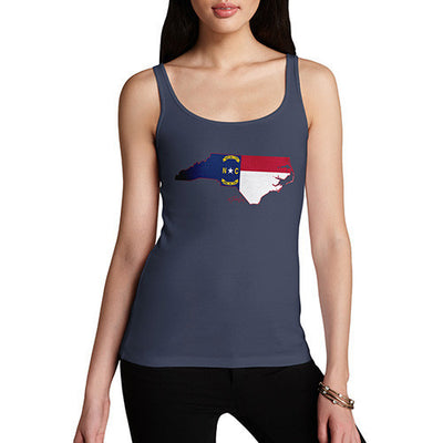 Women's USA States and Flags North Carolina Tank Top