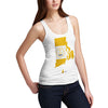 Women's USA States and Flags Rhode Island Tank Top