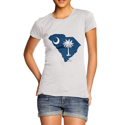 Women's USA States and Flags South Carolina T-Shirt