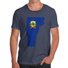 Men's USA States and Flags Vermont T-Shirt