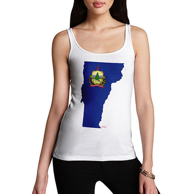 Women's USA States and Flags Vermont Tank Top