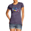 Women's USA States and Flags  T-Shirt