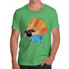 Men's Super Hero Pug T-Shirt