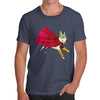 Men's Super Hero Bull Terrier T-Shirt