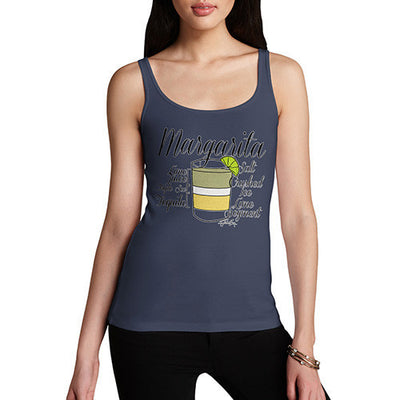 Women's Margarita Recipe Tank Top