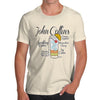 Men's John Collins Drink Recipe T-Shirt