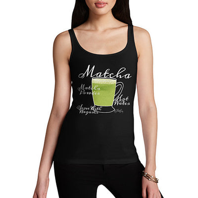 Women's Tea Recipe Matcha Tank Top