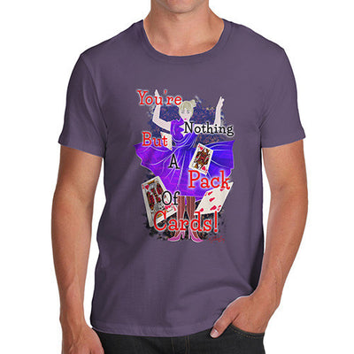 Men's Alice and the Pack of Cards T-Shirt