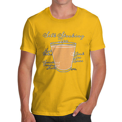 Men's Tea Recipe Silk Stocking Tea T-Shirt