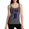 Women's I Love Indiana Tank Top