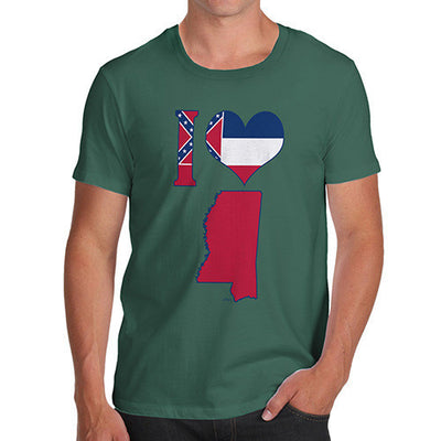 Men's I Love Mississippi T-Shirt