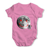 Full Moon Graffiti Baby Grow Bodysuit