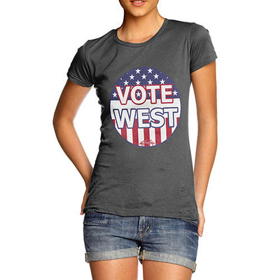 Women's Vote for Kanye West US President T-Shirt