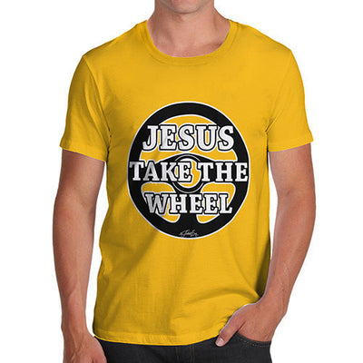 Men's Jesus Takes The Wheel T-Shirt