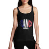 Women's France Rugby Ball Flag Tank Top