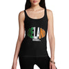 Women's Ireland Rugby Ball Flag Tank Top