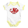 Tonga Rugby Ball Flag Baby Unisex Baby Grow Bodysuit