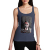 Women's Blood Splatter Mugshot Tank Top