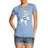 Women's Friendly Ghost Boo T-Shirt