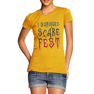 Women's I Survived Scare Fest T-Shirt