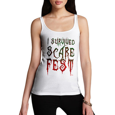 Women's I Survived Scare Fest Tank Top